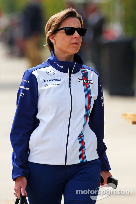 Claire Williams, Delegada en jefe de Williams