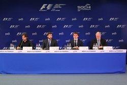 Пресс-конференция на Сочи Автодроме