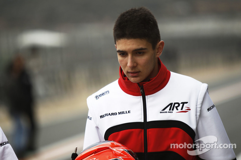 Esteban Ocon ART Grand Prix