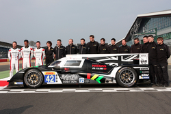 Nissan GT-R LM Nismo and #42 Strakka Racing Dome Strakka S103 - Nissan: Nick Leventis, Danny Watts,