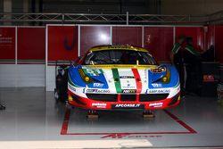#51 AF Corse Ferrari F458 Italia : Gianmaria Bruni, Toni Vilander