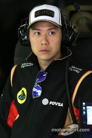 Adderly Fong, Lotus F1 Team