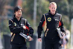 Аяу Каматсу, Lotus F1 Team