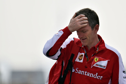James Allison, Director técnico de chasis de Ferrari