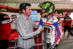 Troy Bayliss, Ducati Team et Troy Corser