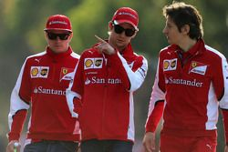Кими Райкконен, Scuderia Ferrari и Эстебан Гутьеррес, Scuderia Ferrari