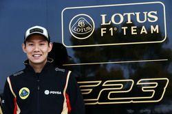 Adderly Fong, Lotus F1 Team Development Driver