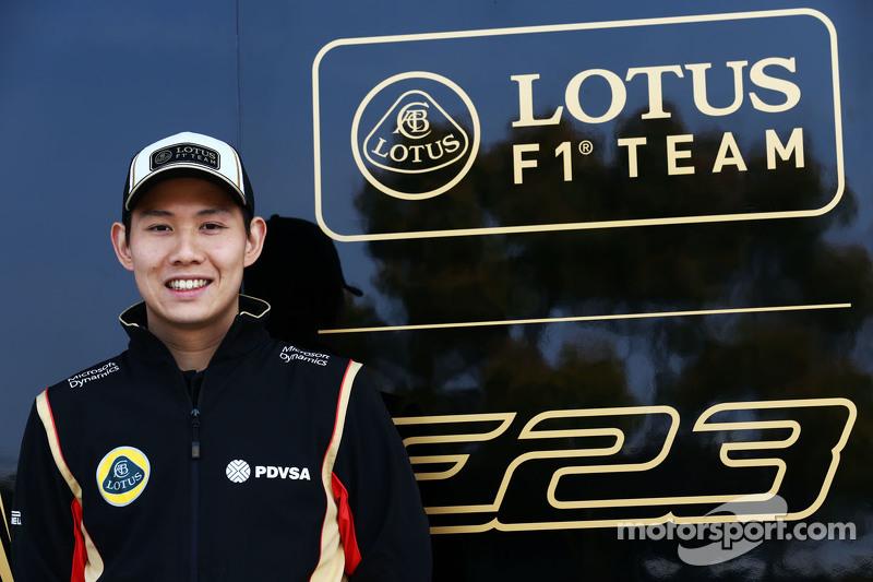 Adderly Fong, Pembalap Pengembangan Lotus F1 Team