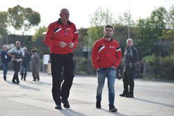 John Booth, Manor F1 Team Team Principal with Will Stevens, Manor F1 Team