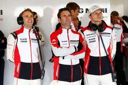 Timo Bernhard, Romain Dumas, Marc Lieb, Porsche Takımı
