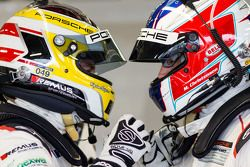 Richard Lietz en Michael Christensen, Porsche Team