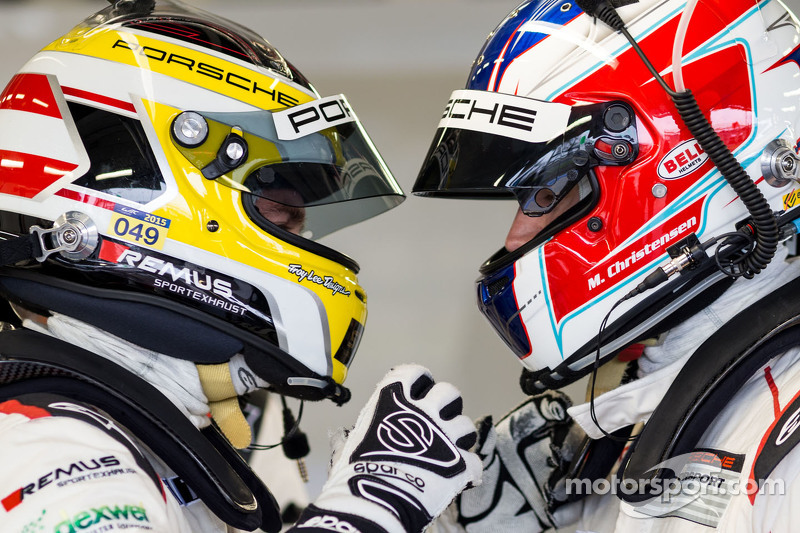 Richard Lietz y Michael Christensen, Porsche Team