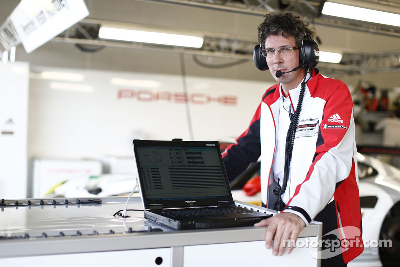 Head of Porsche Motorsport Dr Frank-Steffen Walliser