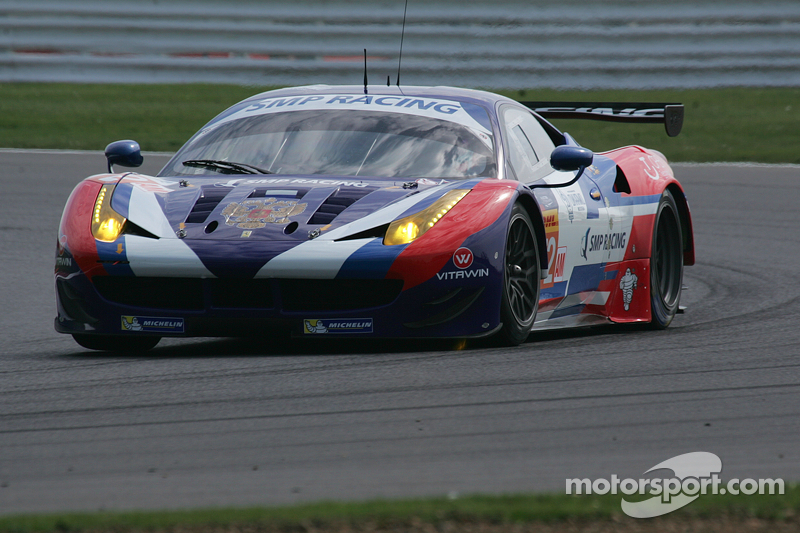 #72 SMP RacingMFerrari F458 Italia: Victor Shaytar, Андреа Бертоліні, Олексій Басов