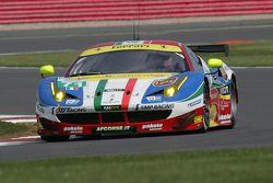 #71 AF Corse Ferrari 458 Italia : Davide Rigon, James Calado