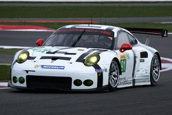 #91 Porsche Team Manthey Porsche 911 RSR : Richard Lietz, Michael Christensen