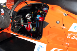 #28 G-Drive Racing Ligier JS P2 - Nissan: Gustavo Yacaman, Luis Felipe Derani, Ricardo Gonzalez