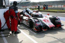 #7 Audi Sport Team Joest Audi R18 e-tron quattro : Marcel Fassler, André Lotterer, Benoit Tréluyer