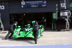 #31 Extreme Speed Motorsports HPD ARX 03B - HPD : Ed Brown, Johannes van Overbeek, Jon Fogarty