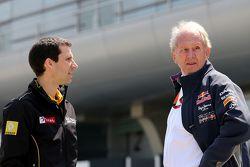Remi Taffin, Renault Sport F1 et le Dr Helmut Marko, Red Bull