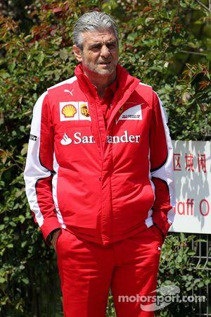 Маурицио Арривабене, руководитель команды Scuderia Ferrari