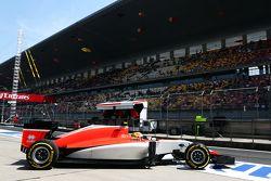 Роберто Мери, Manor F1 Team покидает пит-лейн