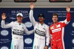المركز الثاني، نيكو روزبرغ، مرسيدس إيه أم جي للفورمولا واحد، صاحب قطب الإنطلاق، لويس هاميلتون، مرسيد