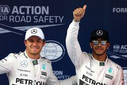 Нико Росберг, Mercedes AMG F1 Team и Льюис Хэмильтон, Mercedes AMG F1 Team