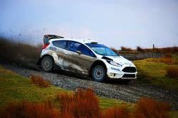 Ford Fiesta RS WRC на тестах