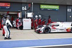 #7 Audi Sport Team Joest Audi R18 e-tron quattro: Марсель Фэсслер, Андре Лоттерер, Бенуа Трельер