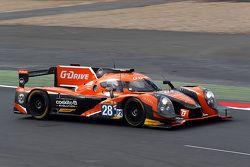 Ligier JS P2 - Nissan команды G-Drive Racing: Густаво Якаман, Луис Дерани, Рикардо Гонсалес