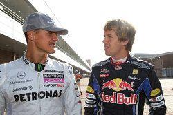 Schumacher y Vettel