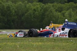 Jack Hawksworth, A.J. Foyt Enterprises Honda and Graham Rahal, Rahal Letterman Lanigan Racing Honda