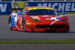 #81 AF Corse Ferrari F458 İtalya: Stephen Wyatt, Michele Rugolo, Rui Aguas