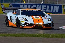 #85 Gulf Racing UK Lamborghini Gallardo GT3: Roald Goethe, Daniel Brown, Archie Hamilton