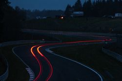 Streaking lights on the Nürburgring