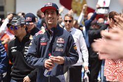 Даниэль Риккардо, Red Bull Racing на параде пилотов
