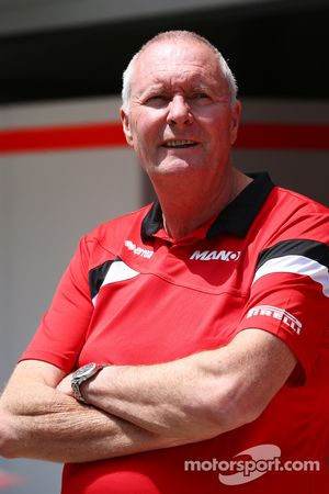 Джон Бут, руководитель Manor F1