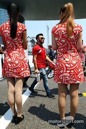 Will Stevens, Manor F1 Team pada parade pembalap