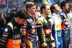 Серхио Перес, Sahara Force India F1 на стартовой решетке