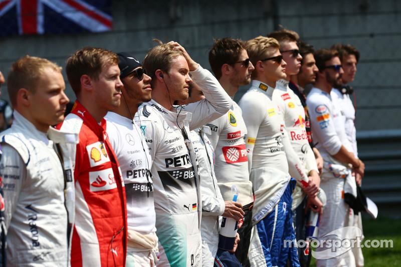 Ніко Росберг, Mercedes AMG F1на стартовій решітці