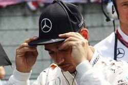 Льюис Хэмилтон, Mercedes AMG F1 на стартовой решетке