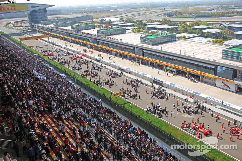 F1中国大奖赛 4月15日-17日