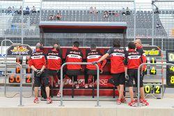 Ducati Team garage