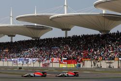 Roberto Merhi, Manor F1 Team, und Will Stevens, Manor F1 Team