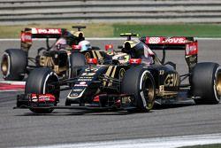 Пастор Мальдонадо, Lotus F1 Team и Ромен Грожан, Lotus F1 Team