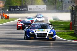 #36 Sainteloc,奥迪R8 LMS ultra: Jean-Paul Buffin, Georges Cabannes, Marc Sourd