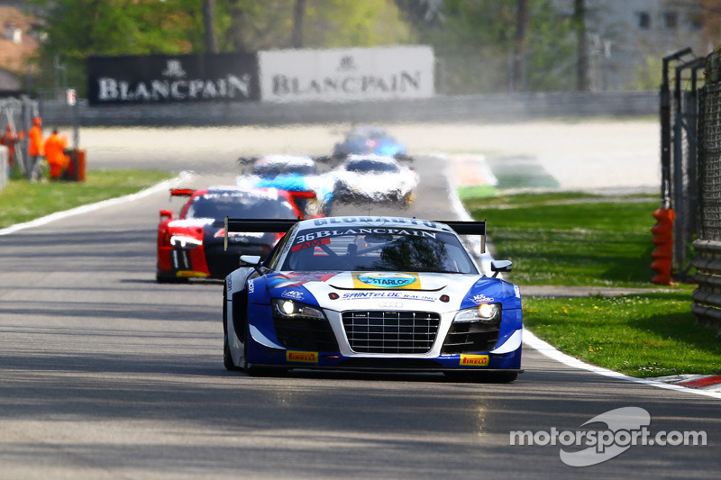 #36 Sainteloc, Audi R8 LMS ultra: Jean-Paul Buffin, Georges Cabannes, Marc Sourd