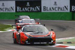 #11 Kessel Racing, Ferrari 458 Italia: Michael Broniszewski, Michael Lyons, Alessandro Bonacini