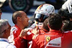 Terceiro lugar Sebastian Vettel Ferrari